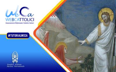Weca #27: Maria e la Resurrezione