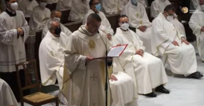 Omelia nella Santa Messa in occasione dell'Ordinazione presbiterale di Don Alberto Delli Veneri