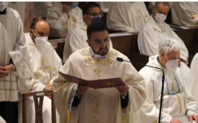 Omelia nella Santa Messa in occasione dell'Ordinazione presbiterale di Don Fabio Vena