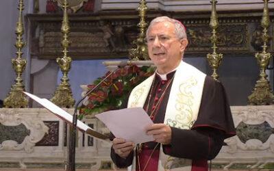 Saluto dell'Arcivescovo alle Autorità Civili e Militari