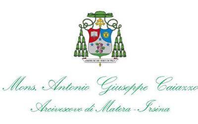 Lettera dell'Arcivescovo all'inizio del nuovo anno scolastico 2021-2022